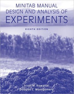 Minitab Manual Design and Analysis of Experiments