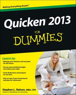 Quicken 2013 For Dummies