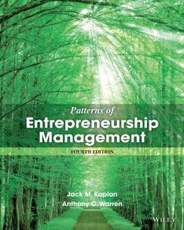 Patterns of Entrepreneurship Management