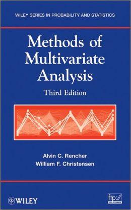Methods of Multivariate Analysis