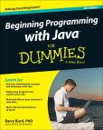 Book Cover Image. Title: Beginning Programming with Java For Dummies, Author: Burd
