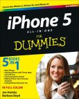 Book Cover Image. Title: iPhone 5 All-in-One For Dummies, Author: Joe Hutsko