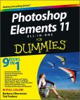 Book Cover Image. Title: Photoshop Elements 11 All-in-One For Dummies, Author: Barbara Obermeier