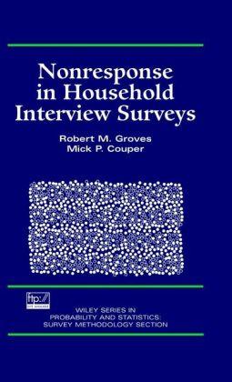 Nonresponse in Household Interview Surveys