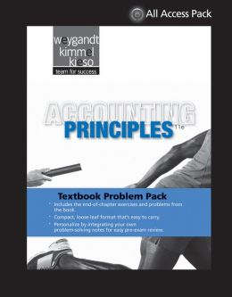 Textbook Problem Pack to accompany Weygandt, Accounting Principles, 11e