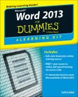 Book Cover Image. Title: Word 2013 eLearning Kit For Dummies, Author: Lois Lowe