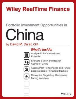 Portfolio Investment Opportunities in China