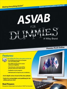 ASVAB For Dummies Premier PLUS