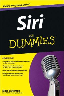 Siri For Dummies