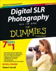Book Cover Image. Title: Digital SLR Photography All-in-One For Dummies, Author: Robert Correll