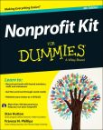 Book Cover Image. Title: Nonprofit Kit For Dummies, Author: Stan Hutton