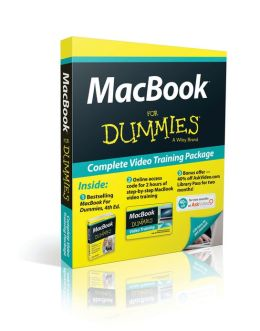 MacBook For Dummies, 4th Edition, Book + Online Video Training Bundle