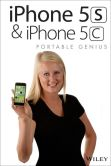 Book Cover Image. Title: iPhone 5S and iPhone 5C Portable Genius, Author: Paul McFedries