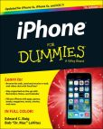 Book Cover Image. Title: iPhone For Dummies, Author: Edward C. Baig