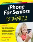 Book Cover Image. Title: iPhone For Seniors For Dummies, Author: Nancy C. Muir