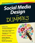 Book Cover Image. Title: Social Media Design For Dummies, Author: Janine Warner