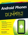 Book Cover Image. Title: Android Phones For Dummies, Author: Dan Gookin