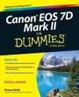 Book Cover Image. Title: Canon EOS 7D Mark II For Dummies, Author: Doug Sahlin