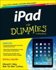 Book Cover Image. Title: iPad For Dummies, Author: Edward C. Baig
