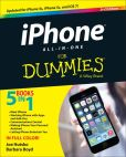Book Cover Image. Title: iPhone All-in-One For Dummies, Author: Joe Hutsko