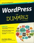 Book Cover Image. Title: WordPress For Dummies, Author: Lisa Sabin-Wilson