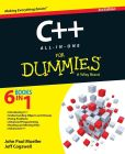 Book Cover Image. Title: C++ All-in-One For Dummies, Author: John Paul Mueller