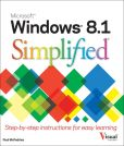 Book Cover Image. Title: Windows 8.1 Simplified, Author: Paul McFedries