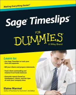 Sage Timeslips For Dummies