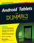 Book Cover Image. Title: Android Tablets For Dummies, Author: Dan Gookin