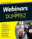 Book Cover Image. Title: Webinars For Dummies, Author: John Carucci