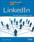 Book Cover Image. Title: Teach Yourself VISUALLY LinkedIn, Author: Lance Whitney