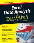Book Cover Image. Title: Excel Data Analysis For Dummies, Author: Stephen L. Nelson