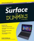Book Cover Image. Title: Surface For Dummies, Author: Andy Rathbone