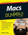 Book Cover Image. Title: Macs For Dummies, Author: Edward C. Baig