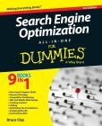 Book Cover Image. Title: Search Engine Optimization All-in-One For Dummies, Author: Bruce Clay
