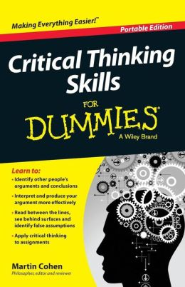 critical thinking for dummies