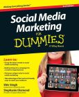 Book Cover Image. Title: Social Media Marketing For Dummies, Author: Shiv Singh
