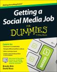 Book Cover Image. Title: Getting a Social Media Job For Dummies, Author: Brooks Briz