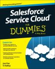 Book Cover Image. Title: Salesforce Service Cloud For Dummies, Author: Jon Paz