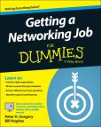 Book Cover Image. Title: Getting a Networking Job For Dummies, Author: Peter H. Gregory