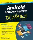 Book Cover Image. Title: Android App Development For Dummies, Author: Michael Burton