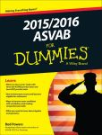 Book Cover Image. Title: 2015 / 2016 ASVAB For Dummies, Author: Rod Powers