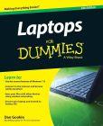 Book Cover Image. Title: Laptops For Dummies, Author: Dan Gookin