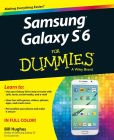 Book Cover Image. Title: Samsung Galaxy S6 for Dummies, Author: Bill Hughes