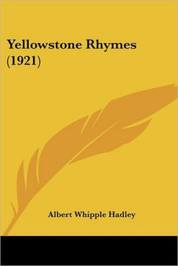 Yellowstone Rhymes (1921)