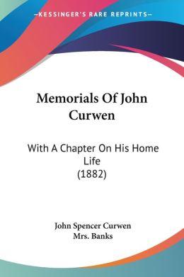 Memorials Of John Curwen