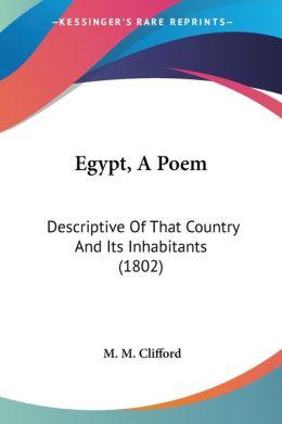 Egypt, A Poem
