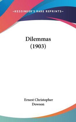 Dilemmas (1903)