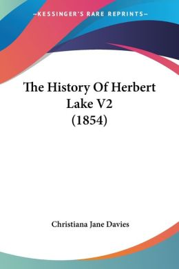 The History Of Herbert Lake V2 (1854)