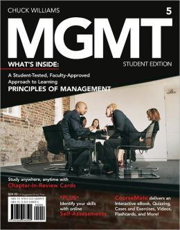 MGMT5: Principles of Management (Student Edition)